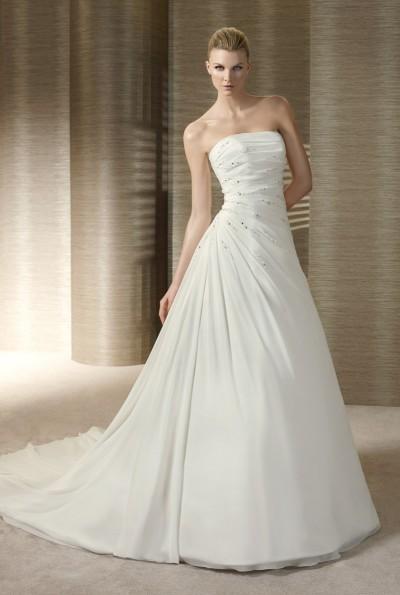 Свадебные платья с верхом бюстье