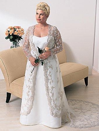 Свадебное платье мечты для полных невест