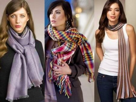 Как выбрать и завязать шарф