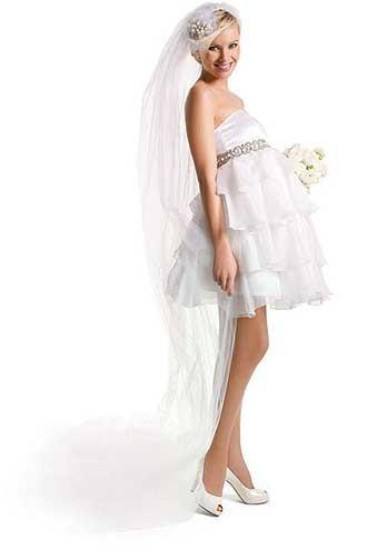 Мини-платье для будущей мамы
