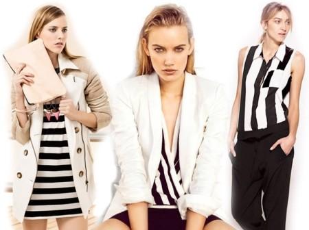 Горизонтальные полосы женские платья