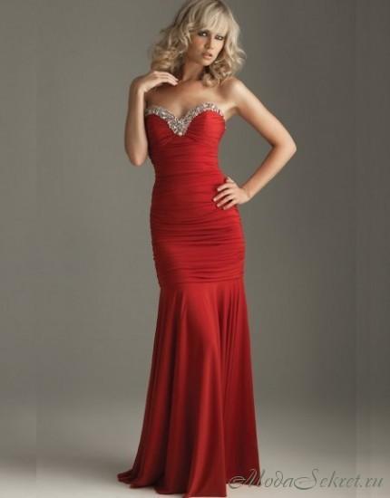 Самые красивые вечерние длинные платья