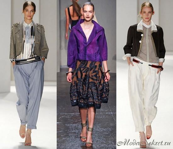 В моде в 2012 2013 году как выглядит