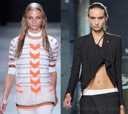 Офисный стиль одежды для девушек 2012