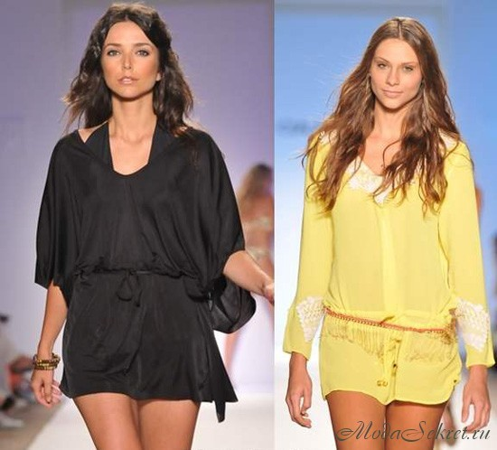Описание: Пляжные туники 2012 Мода и стиль.
