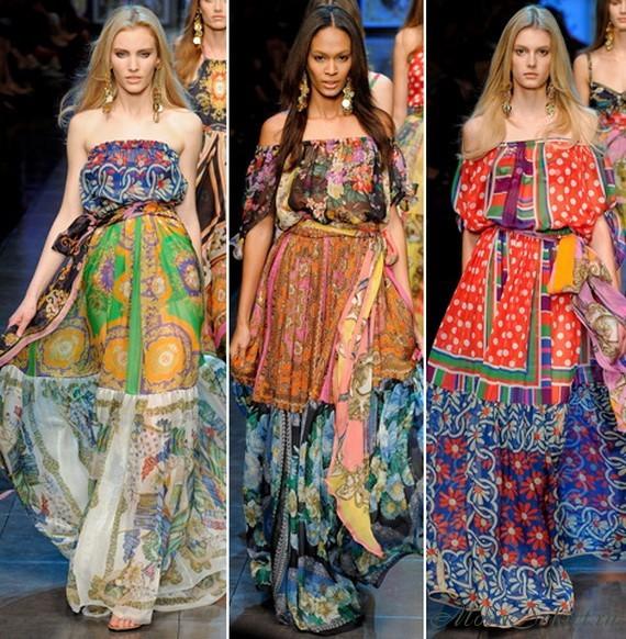 Летние платья и сарафаны на 2012 год