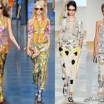 Модные брюки 2012 - D&G (1-2) и Diane Von Furstenberg (3-4)