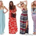 Модные летние платья для полных 2012 года