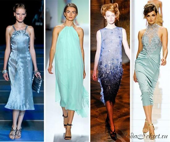 Фасоны летних платьев 2012.  С наступлением жаркого лета каждая девушка...