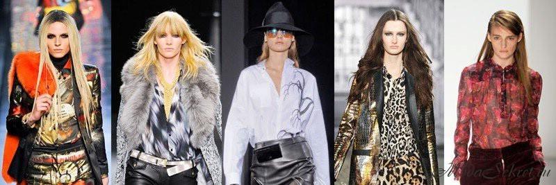 Модные блузки осень зима 2012 2013