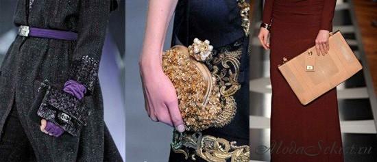 Модные сумочки - Chanel, D & G, Aigner.  Модные сумки 2013 фото.