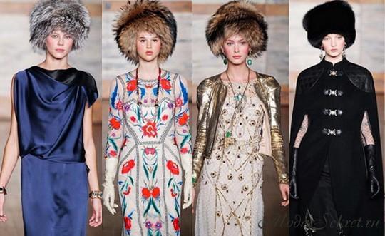 модные шапки осень-зима 2012-2013