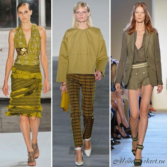 какие цвета модные летом 2013