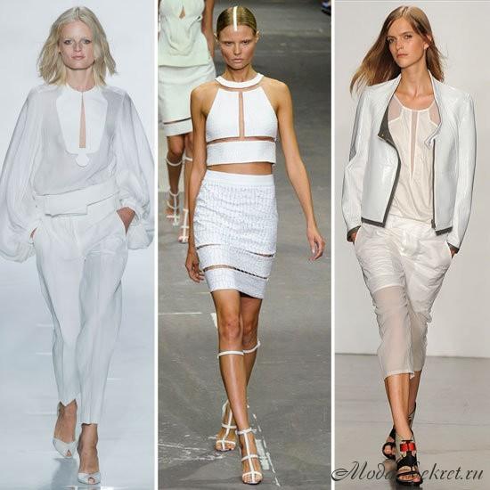 какие цвета в моде летом 2013