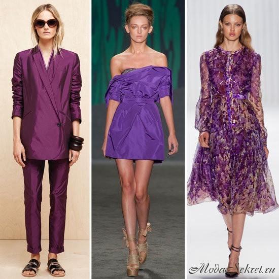 модные цвета лето 2013