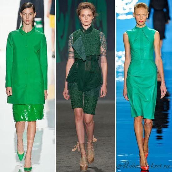 какие цвета модные весной 2013