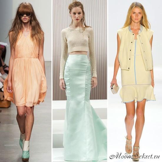 какие цвета в моде в 2013 году