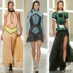 модные платья весна лето 2013