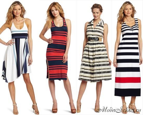 летние платья и сарафаны 2013 фото