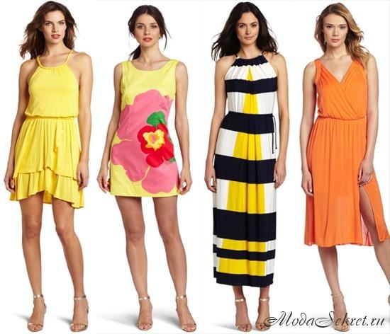 летние платья и сарафаны 2013