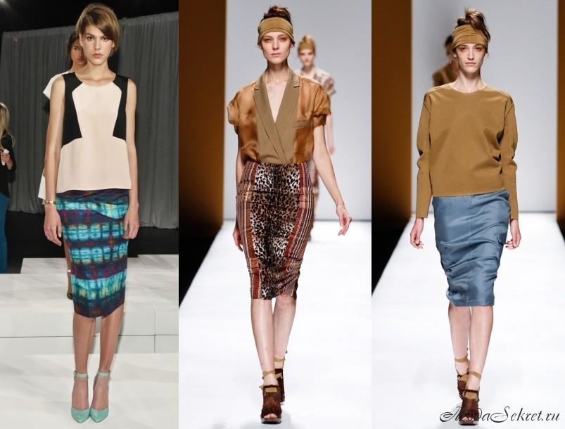 модные юбки весна лето 2013 фото