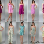модные платья для лета