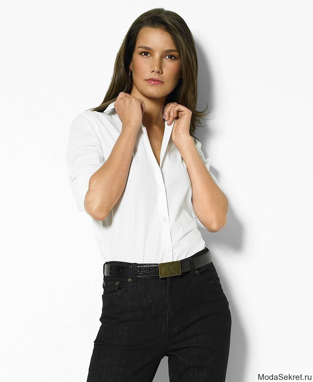 Фото на аву девушки в белой блузке и