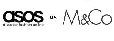 ASOS против M&Co