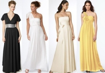 Греческое платье с простой выкройкой