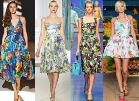 Элементарное летнее платье на резинках
