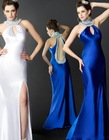 Платья вечерние короткий перед длинный зад