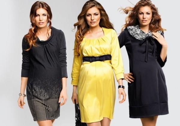 Одежда Для Полных Беременных Женщин Фото