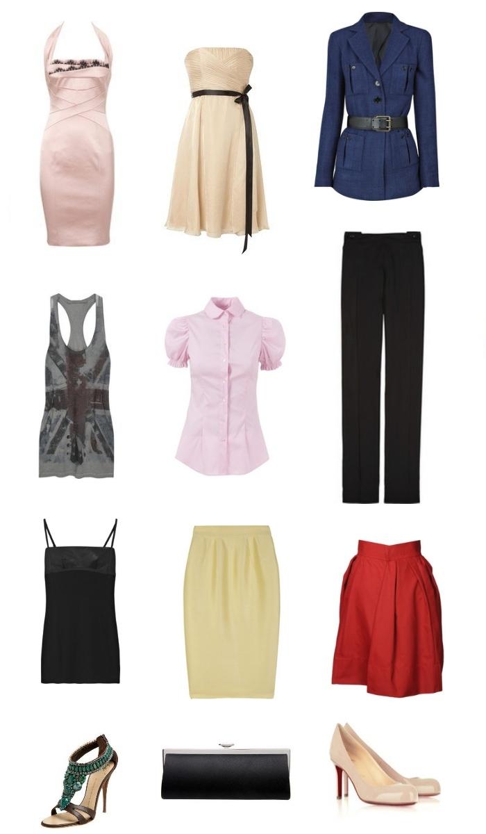 """Выбор одежды для фигуры """"Песочные часы"""""""