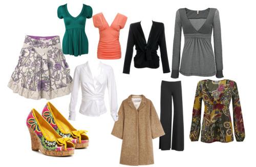 """Выбор одежды для фигуры """"Яблоко"""""""