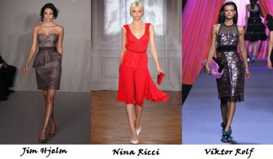 Модные вечерние платья - фото