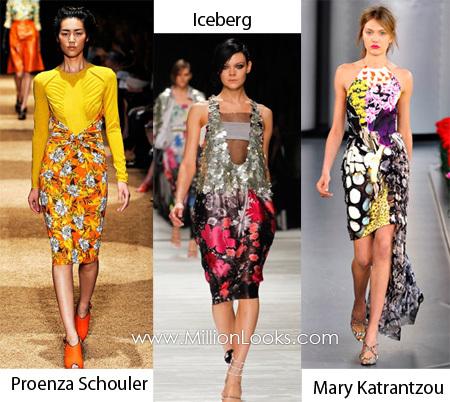 Платья сезона весна лето этого года