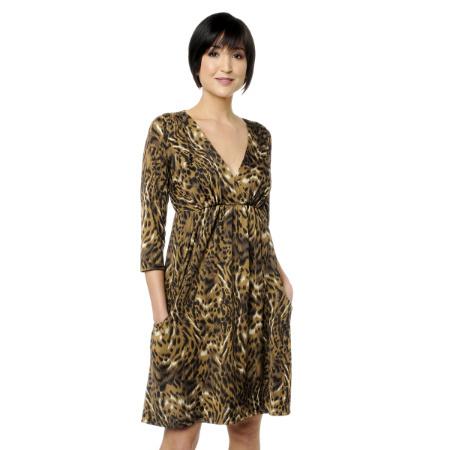 Платья с леопардовыми принтами