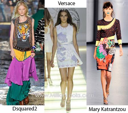 Модные принты