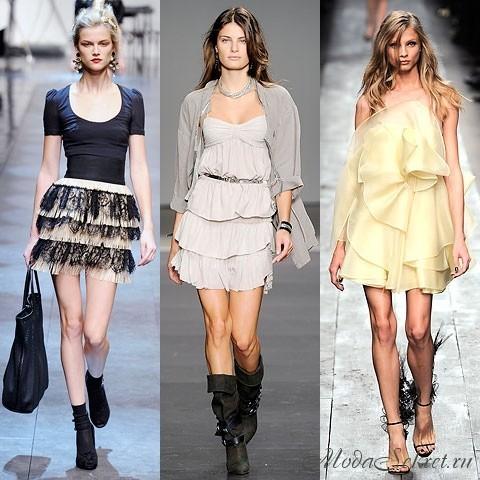Стильная летняя одежда для девушек
