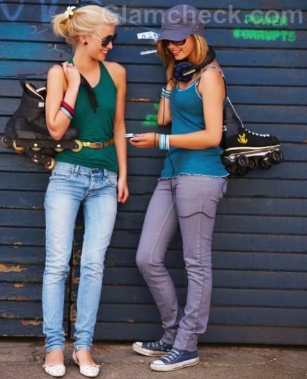 Туфли с джинсами. Что носить с джинсами