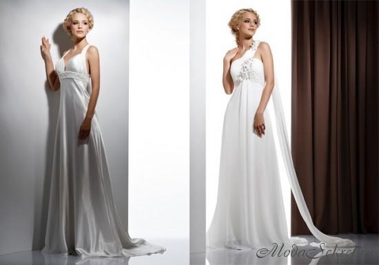 Свадебные платья в греческом стиле Фото