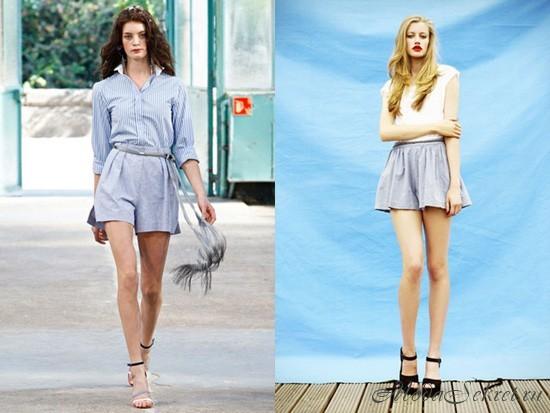 Модные женские шорты весна лето