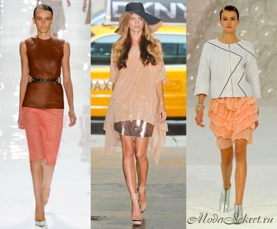 Модные летние юбки на фото