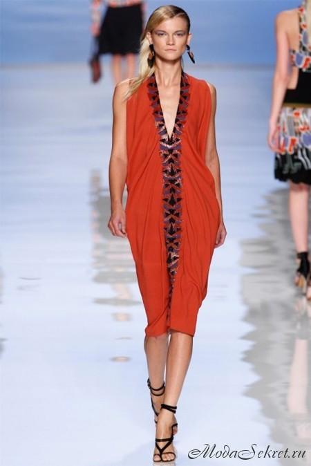 Красные платья в этом году