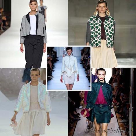 Модные женские пиджаки (фото)