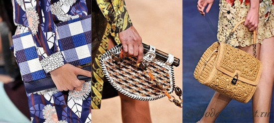 Вязаные сумки (фото) - новый модный тренд