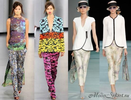 Модные брюки (фото)