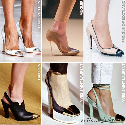 Какие туфли в моде 2012