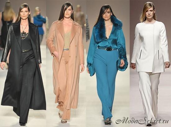 Мода для полных осень зима 2012