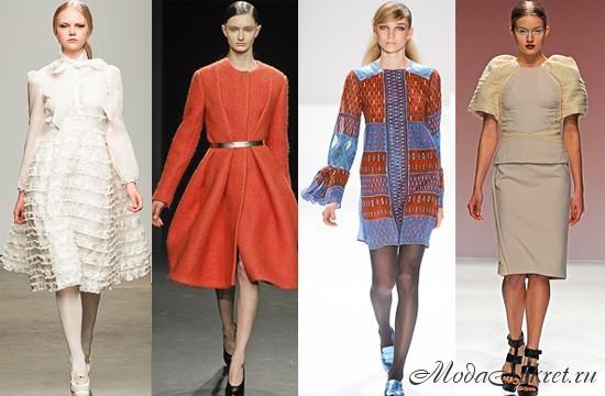 Какие платья в моде осенью 2017 и зимой 2018